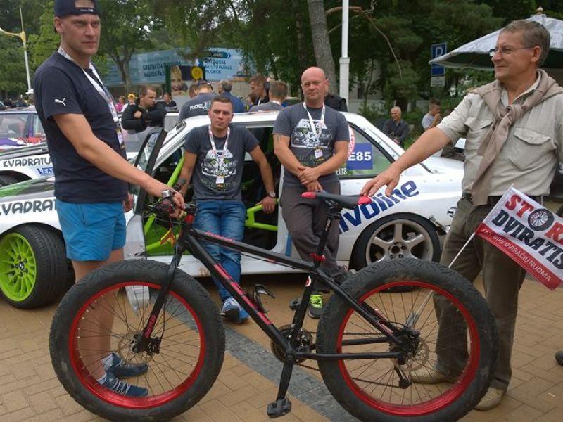 Fat Bike Palangoje